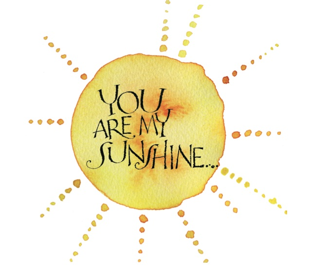 Skicka lite solsken i höstmörkret