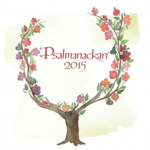 Framsida Psalmanackan 2015