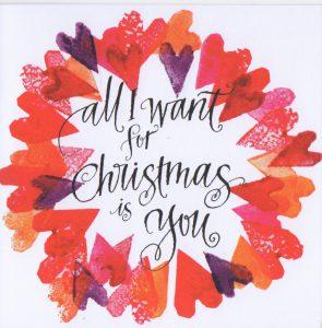 Kort 57 All I want for Christmas