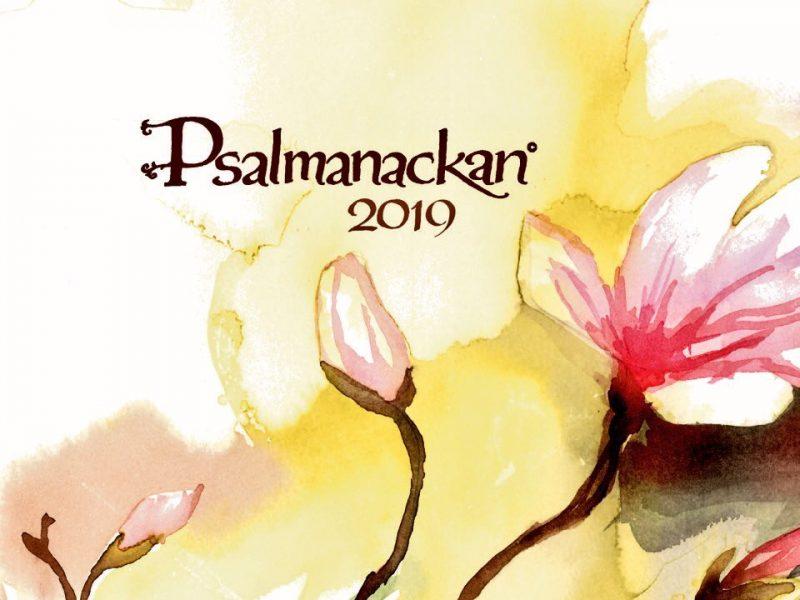 Psalmanackan 2019 är här!