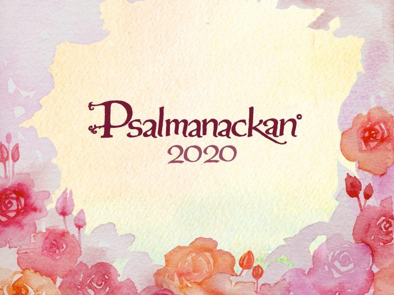 Psalmanackan 2020 är här!