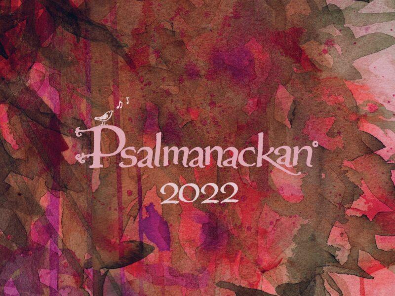 Psalmanackan 2022 är här!